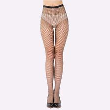 Fashion Women's Sexy Fishnet Pattern Pantyhose Tights Punk Stockings Black