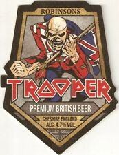 Rock Band Rare 10 x Iron Maiden Trooper Beer Mat Trooper Day of The Dead