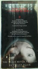 Blair Witch Project & Curse of the Blair Witch VHS 2-Tape Slipcase Boxed Set NOS