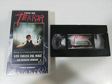STEPHEN KING LOS CHICOS DEL MAIZ CINE DE TERROR VHS TAPE CINTA COLECCIONISTA