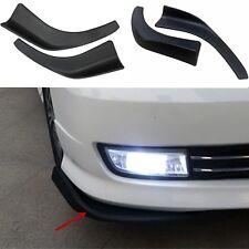 Auto Under Front Bumper Lip Spoiler Splitter Polyurethane (PU) Compact Car