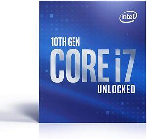 Intel Core i7 (10th Gen) i7-10700K Octa-core (8 Core) 3.80 GHz Processor - OB