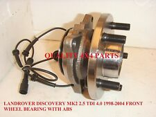 LANDROVER DISCOVERY MK2 2.5 TD5 4.0 V8 1998-2004 FRONT WHEEL BEARING HUB ABS