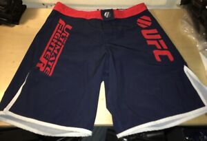 War Machine Used Training Shorts TUF The Ultimate Fighter Trunks Not Fight Worn