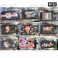 BTS BT21 Official Authentic Goods Card Wallet Music Ver 8.5x12.5cm + Tracking Nu