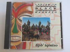 Liph' Iqiniso by Ladysmith Black Mambazo (CD, Apr-1994, Shanachie Records)