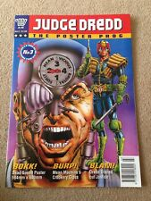 2000AD Judge Dredd Poster Prog Issue Number 3 Wagner & Robinson Rare Comic