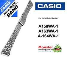 REPLACEMENT CASIO WATCH BAND ORIGINAL ONLY FITS: A158WA-1, A163WA-1, A-164WA-1