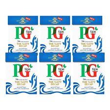 Pg Tips Tasty Decaf Pyramid Tea Bags Total 420 Everyday Caffeine 6 X 70 Bag Pack