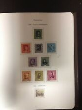Liechtenstein Collection 1912-1982 in Muller Heavy Duty Album & Binder