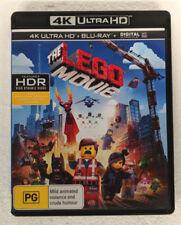 THE LEGO MOVIE - 4K ULTRA HD + Blu-ray REGION B oz seller 4K UHD DVD