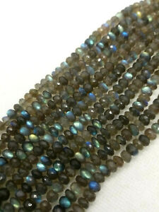 Teardrop Beads 7 Inch Full Strand Blue Flash Fire Play Natural Gemstone Faceted Flashing Blue Fire Labradorite 8x5 to 13x8MM Approx