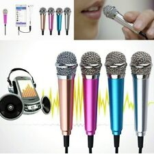 Mini 3.5mm Stereo Studio Speech Mic Audio Microphone for Phone/Smart Phone