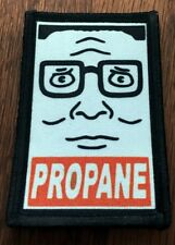 King of the Hill Hank Propane Morale Patch Tactical Military Army USA Funny