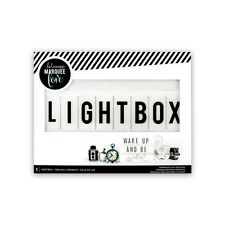 LIGHTBOX LIGHT BOX SCATOLA DI LUCE 33,5 X 25,5 CM LAVAGNA LUMINOSA HEIDI SWAPP
