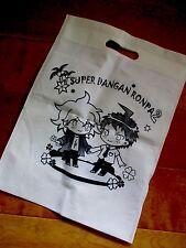 Danganronpa Dangan Ronpa Komaeda Nagito Hinata Hajime Fan Made Canvas Bag