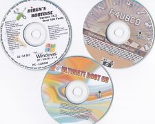 Hiren's, FalconFour, Ultimate Boot CD's 3 for 1,recovery rescue repair scan