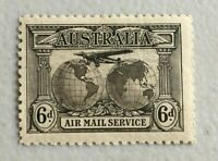 APD543) Australia 1931 6d Airmail - Kingsford Smith MUH