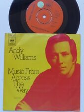 ANDY WILLIAMS Music from across the way CBS 7467 Holland rrr