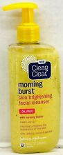 Clean & Clear Morning Burst Skin Brightening Facial Cleanser 8 oz and