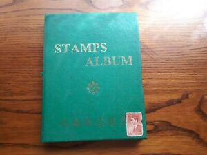 VIETNAM: 120 USED STAMPS IN A SMALL ALBUM.