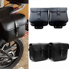 1 Paar wasserdichte Motorrad-PU-Ledersatteltaschen Aufbewahrungswerkzeugbeutel