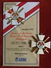 Göde Orden Preußen 1792 - Roter Adler Orden Kreuz 1.Klasse mit Schwertern  #0219