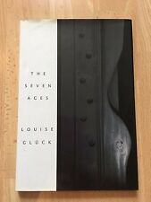 The Seven Ages Hardcover Book Louise Gluck Poetry Literary