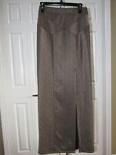 Free People Brown Maxi Skirt w/ Slit S