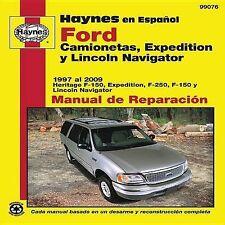 Ford Camionetas, Expedition y Lincoln Navigator Manual de Reparacion (Haynes Man