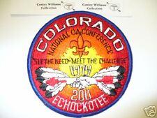 OA Echockotee Lodge 200,R-2,1979 NOAC,Colorado,TOUGH,pp,North Florida Council,FL