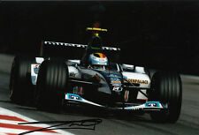 Bas Leinders Hand Signed Minardi Cosworth Photo 12x8 2.