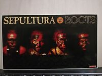 NO CD/LP - SEPULTURA-ROOTS - ADESIVO ORIGINALE  cm 21 x cm 12 nuovo