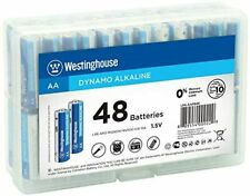 [Pk-48] Westinghouse Alkaline AA Batteries Lasting Power for High Drain Devices