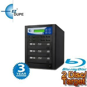 EZ DUPE ALL in ONE multimedia Duplicator PLUS to 2 Blu-ray/SD/CF/MS/MMC/USB