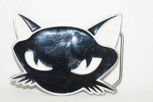 Belt Buckle Cat Kitten Pussycat 4648 Fine Pure Pewter 2003