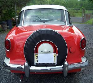 Nash Metropolitan Spare Tire Cover 1954 1955 1956 1957 1958 1959 1960 1961