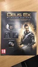 Deus Ex Mankind Divided Xbox one extra DLC sólo el código de mission y el abrigo