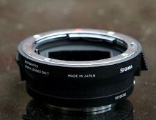 Sigma MC-11 Lens adapter Canon EF mount to Sony E MC11 converter