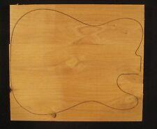 "Guitar body blank, Western Red Alder, 13"" x 16"" - For Telecaster"