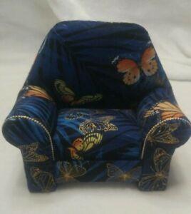 "Pin cushion chair is new handmade with storage box.5 1/2 L x 5 1/2"" H x 2 1/2"" W"