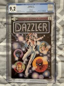 DAZZLER #1 CGC 9.2 WHITE PAGES