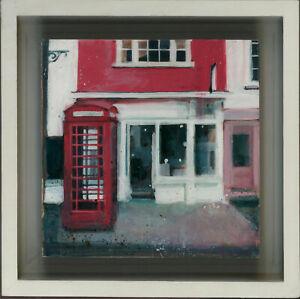 Camilla Dowse - Contemporary Acrylic, The Red Phone Box