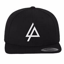 Merch CODE Linkin Park Logo Snapback Cap Black 6 Panel Yupoong Flexfit Cap Hat