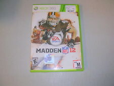 MADDEN NFL 12 2012 (Microsoft Xbox 360) Complete
