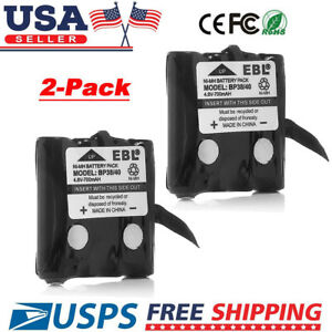 2 Pack 2-way Radio Replacement Battery for UNIDEN BP-38 BP38 BP-39 BP-40 GMR FRS
