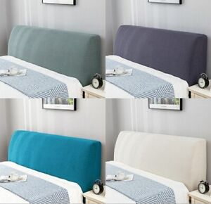 Stretch Headboard Cover Bed Head Dust Proof Bedding Bedspread Slipcover H_.162