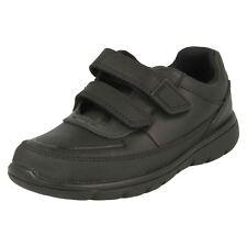 Boys Clarks Hook & Loop School Shoes 'Venture Walk'