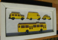 Wiking H0 1/87 Sonderpackung Post Museums Shop Edition 1991 Bundes 4 Fahrzeuge