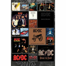 ACDC Album Covers POSTER 61x91cm NEW ac/dc band